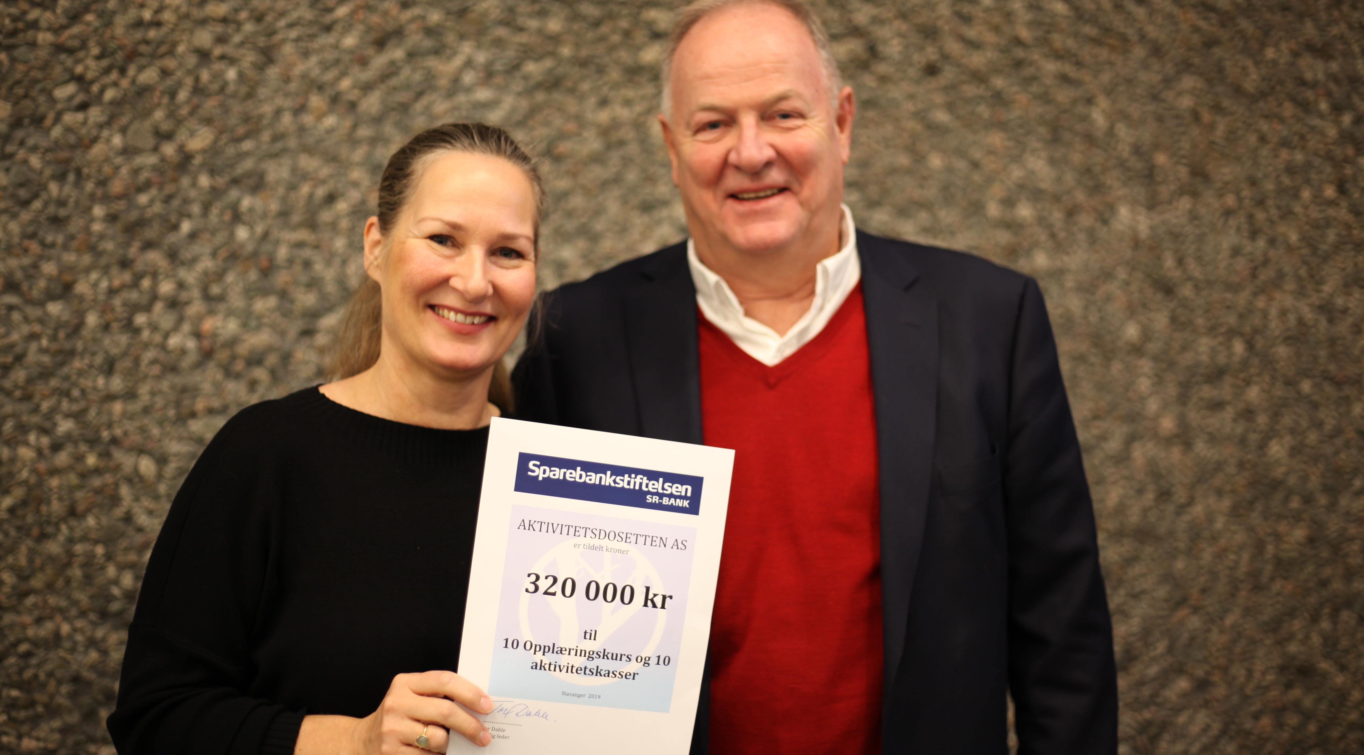 10 sykehjem får oppstart i gave fra Sparebankstiftelsen sr-bank